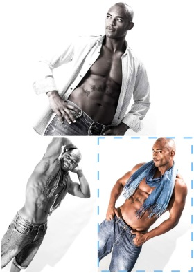 Ibiza black stripper Sheriff, male stripper Ibiza, Ibiza stripper, black stripper, Ibiza